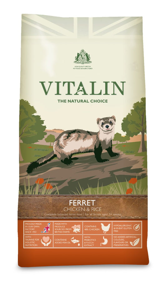 Vitalin Ferret Food 2kg