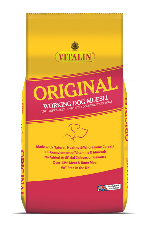 Vitalin Original Dry Dog Food 15kg