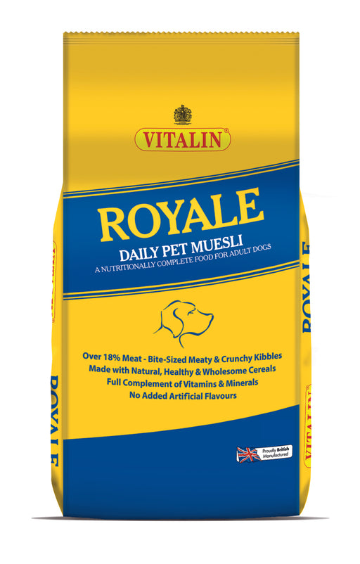 Vitalin Royale Dry Dog Food 15kg