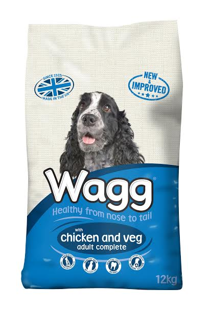 Wagg Complete Chicken & Veg Dry Dog Food - 12kg
