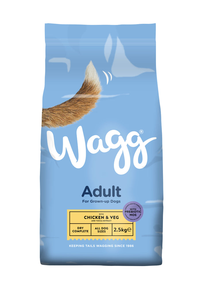 Wagg Complete Chicken & Veg Dry Dog Food 2.5kg