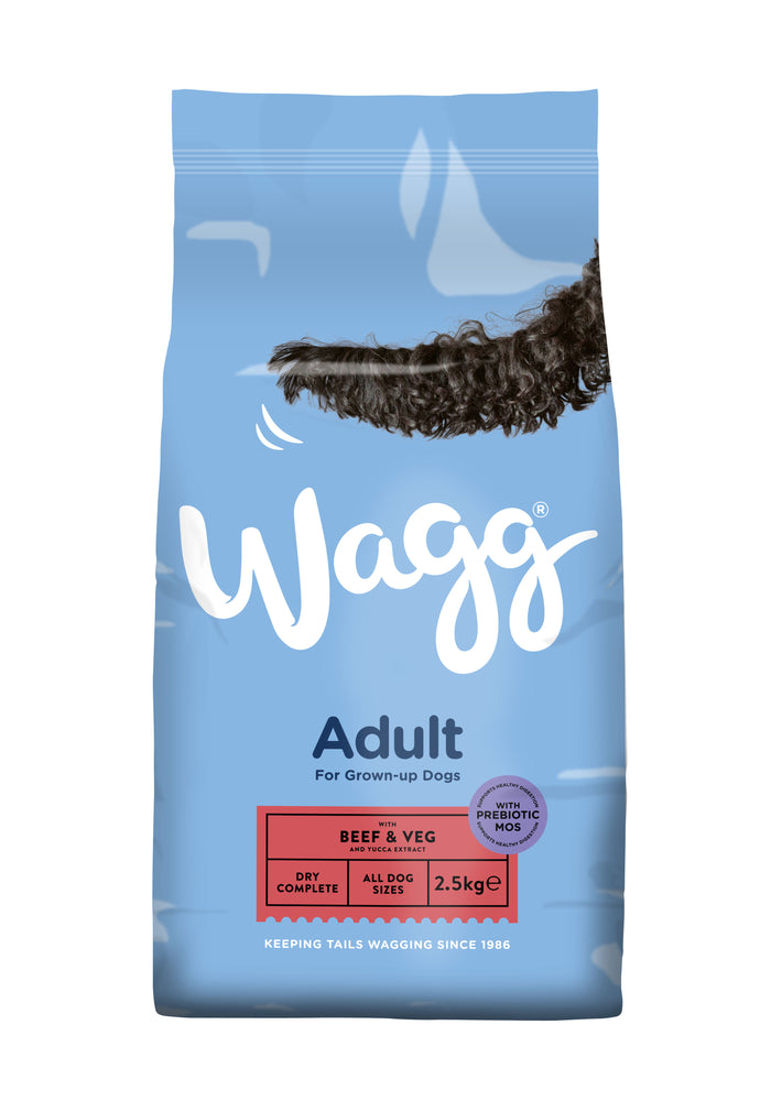 Wagg Complete Original Beef & Veg Dry Dog Food 2.5kg