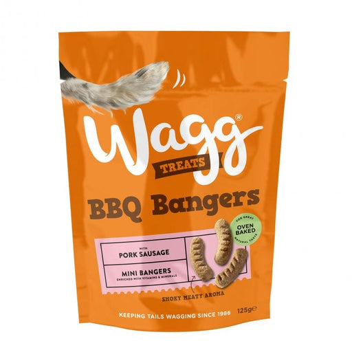 Wagg BBQ Bangers Dog Treats - 125g