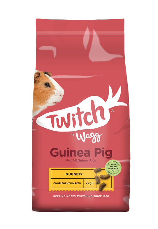 Wagg Twitch Guinea Pig Crunch Food - 2kg