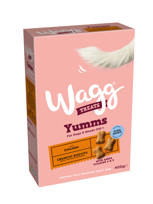 Wagg Mmm's Dog Biscuit Treats 400g