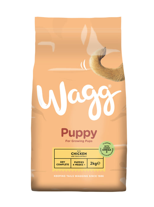 Wagg Puppy Complete Dry Dog Food - 2kg