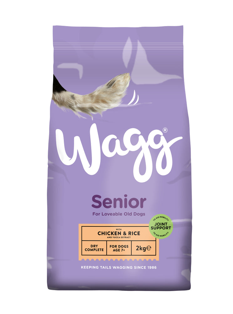 Wagg Senior Complete Dry Dog Food 2kg
