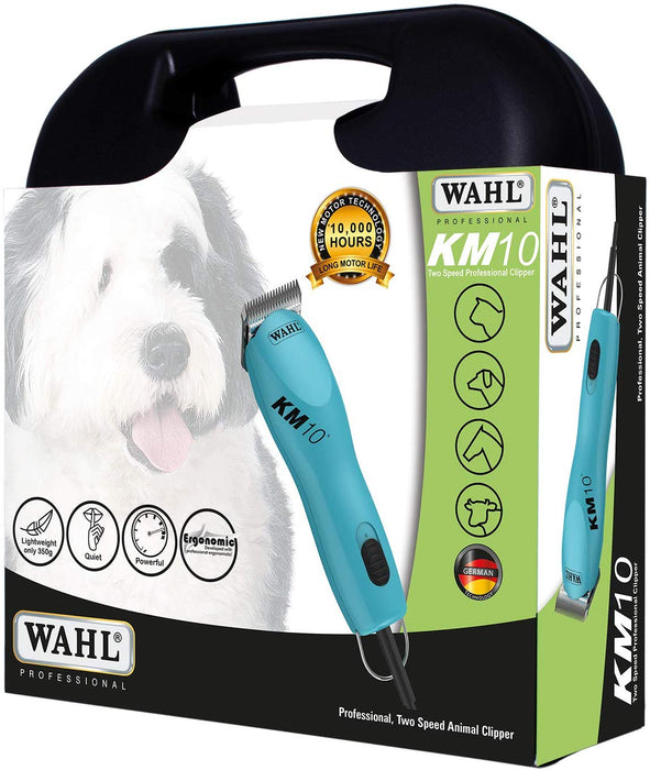 Wahl Pro KM10 Two Speed Professional Animal Clipper Kit
