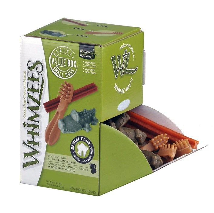 Whimzees Large Dog Chews Variety Box