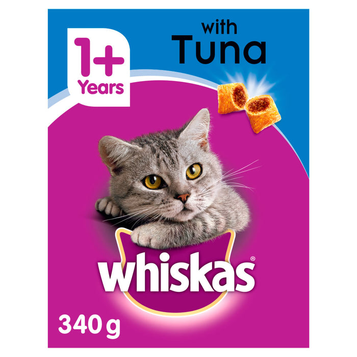 Whiskas 1+ Adult Complete Tuna Dry Cat Food - 340g