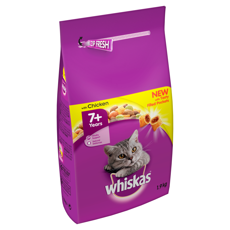 Whiskas Complete Chicken Dry Cat Food - 1.9kg