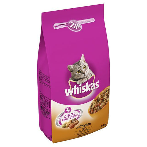 Whiskas Complete Chicken Dry Cat Food - 2kg