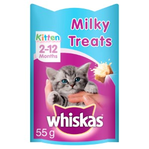 Whiskas Kitten Milky Treats 2-12 Months - 55g