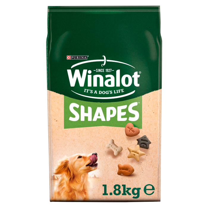 Winalot Shapes 5 Wholesome Dog Biscuit Varieties - 1.8kg
