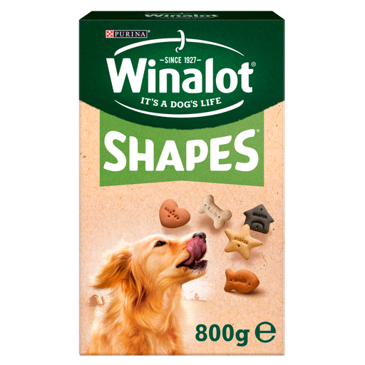 Winalot Shapes Wholesome Dog Biscuit Varieties - 800g