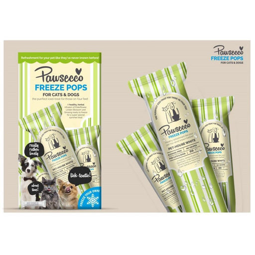 Woof & Brew Pawsecco Freeze Pops - 6 x 50ml