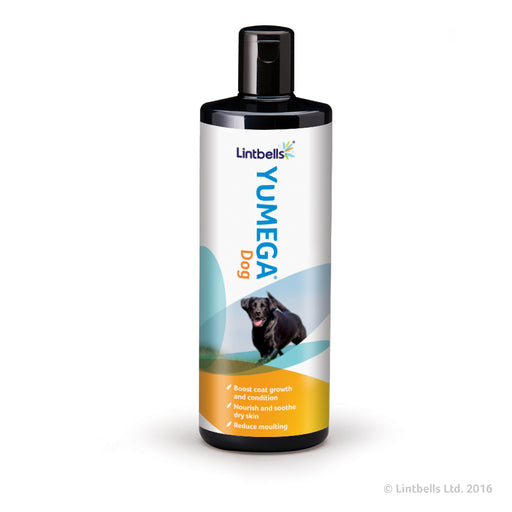 YuDERM Moulting Dog Skin & Coat Supplement for Dogs - 500ml