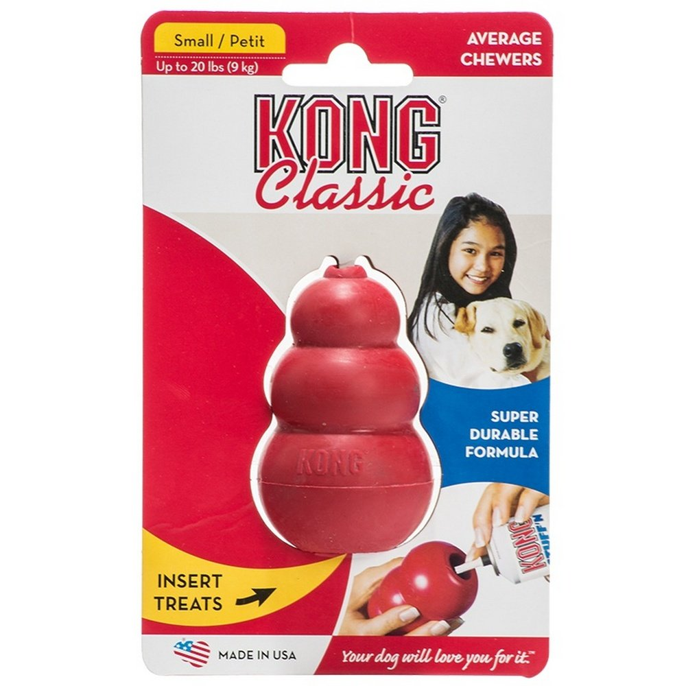 KONG Classic Dog Red