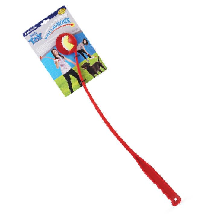 Ancol Tennis Ball Launcher Assorted 62cm