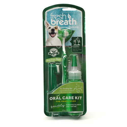 Tropiclean Oral Care Kit For Small Dogs - 59ml