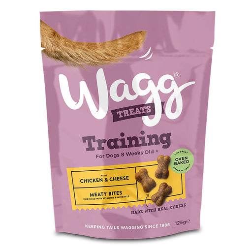 Wagg Chicken & Cheese Dog Training Treats 100g