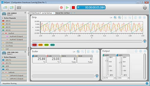 DAQami Data Acquisition Software