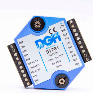D1711M Digital IO to RS232 Serial Signal Conditioner Module