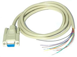 CA-3 D-Sub 9-Pin F to Tin Lead RS232 Serial Cable for D1000