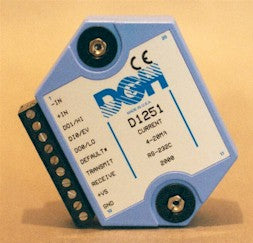D1251M 4-20mA Analog to RS232 Serial Signal Conditioner Modules