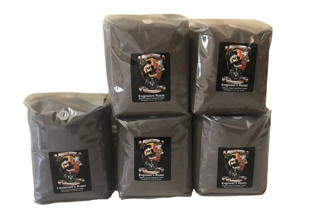 Bulk Coffee Orders 5lbs. - Rough Shift Roasters
