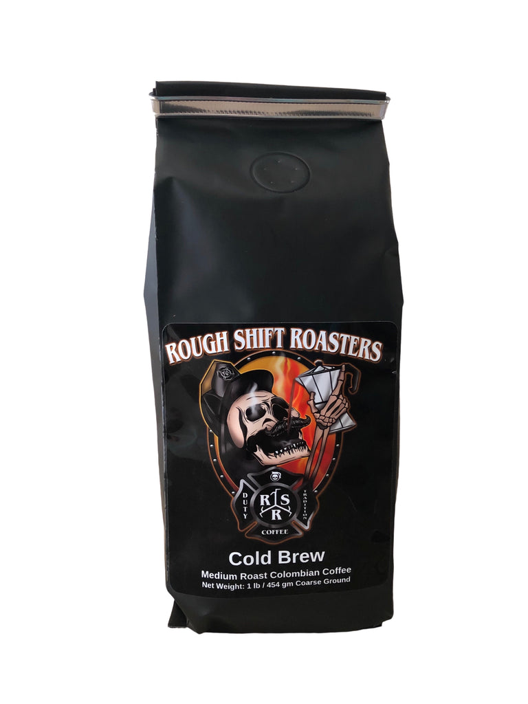 """Cold Brew Roast"" - Rough Shift Roasters"