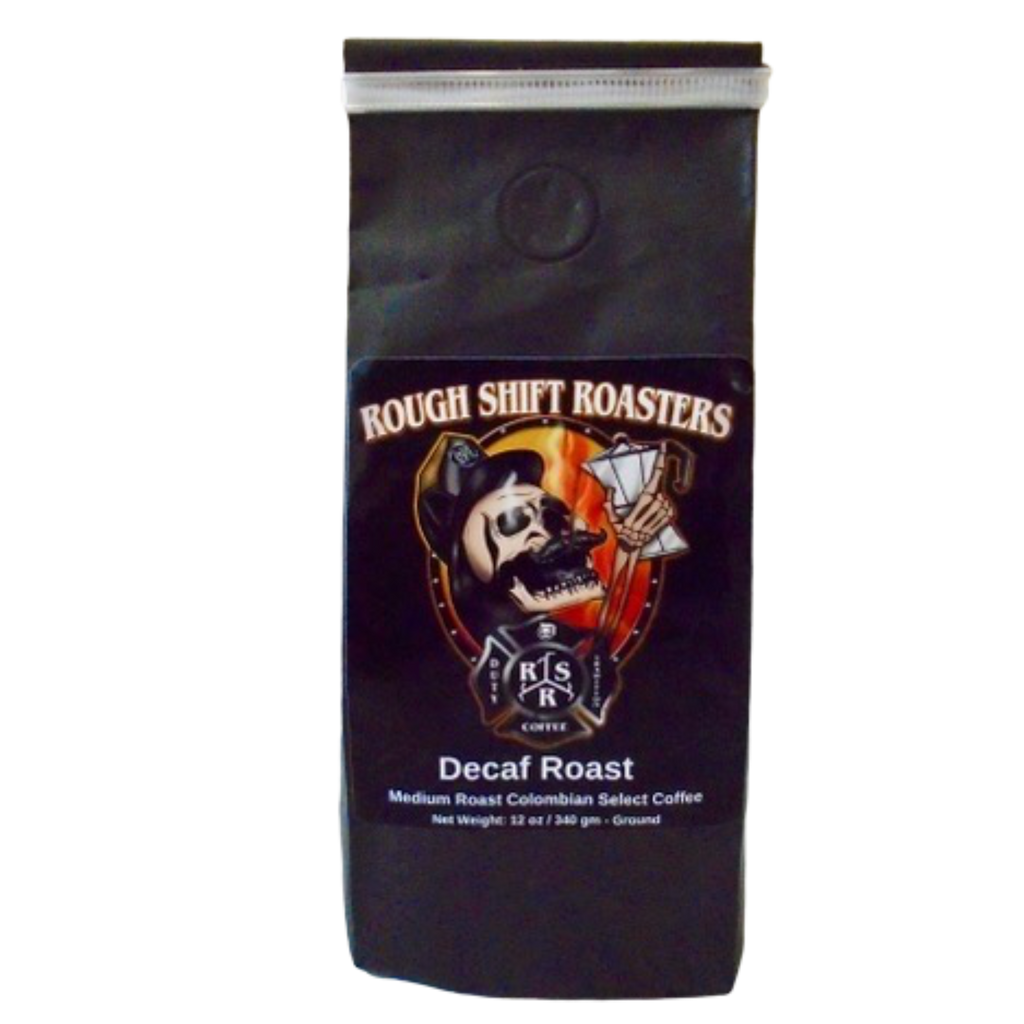 """Decaf Roast"" - Rough Shift Roasters"