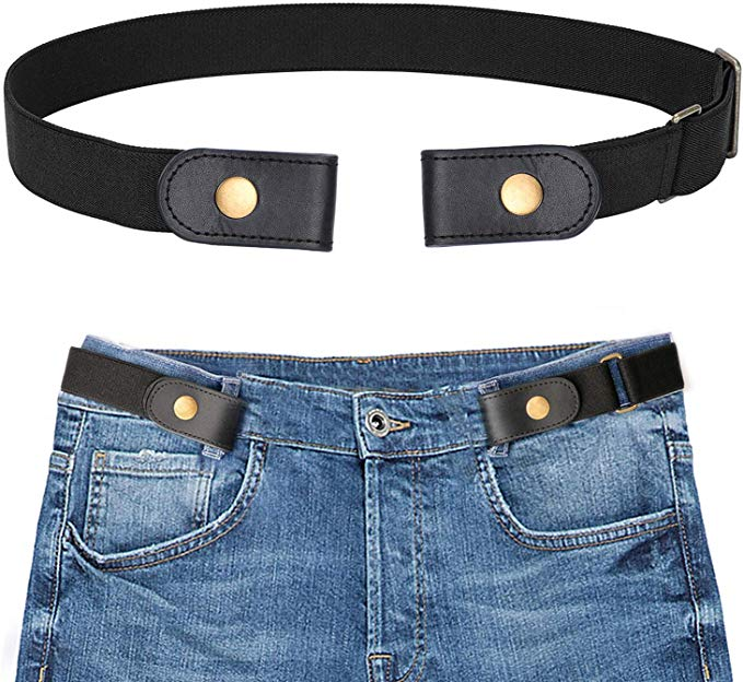 No-Buckle Stretchy Belt For Jeans