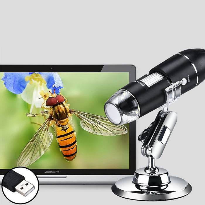 USB Digital Microscope with LED