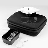 VisionAid™ Magnifying Glasses with A Storage Case (Battery Version)