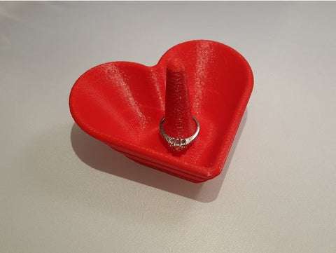 Heart Shaped Jewelry Bowl