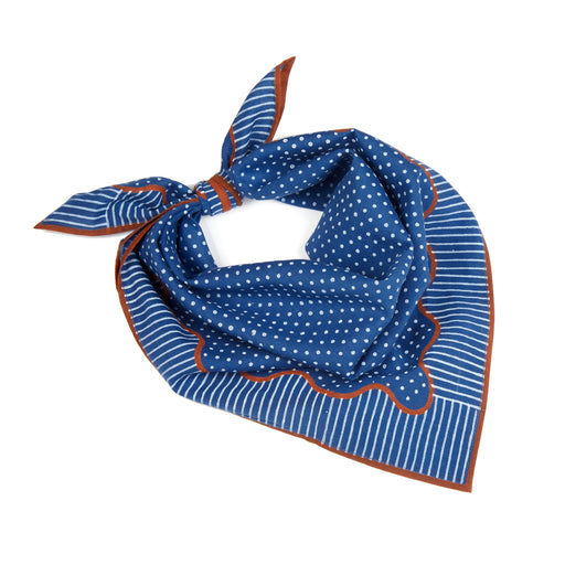 Shauna Bandana in Navy