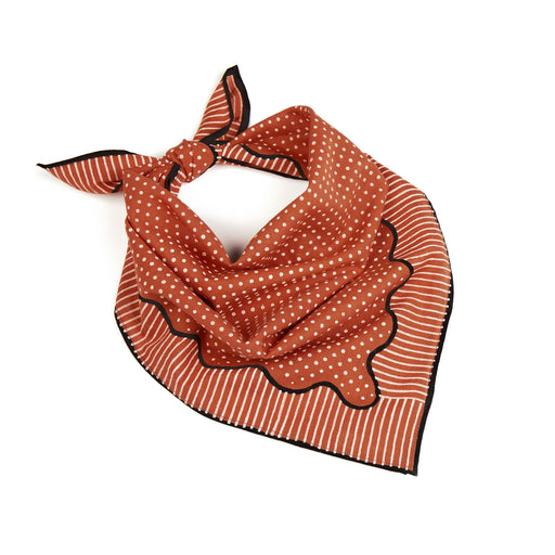 Shauna Bandana in Rust