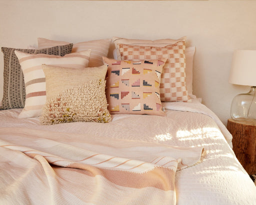 Barragan Pillow in Peach
