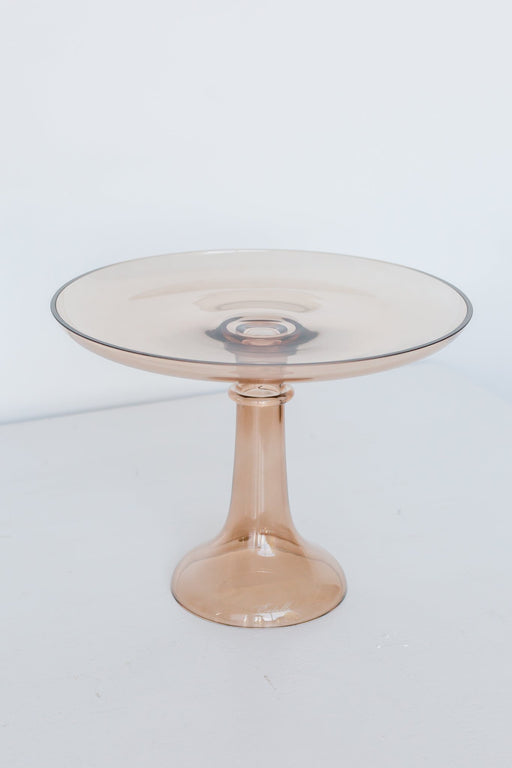 Cake Stand in Amber Smoke