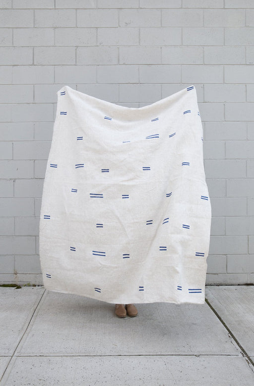 Oaxaca Throw in Navy