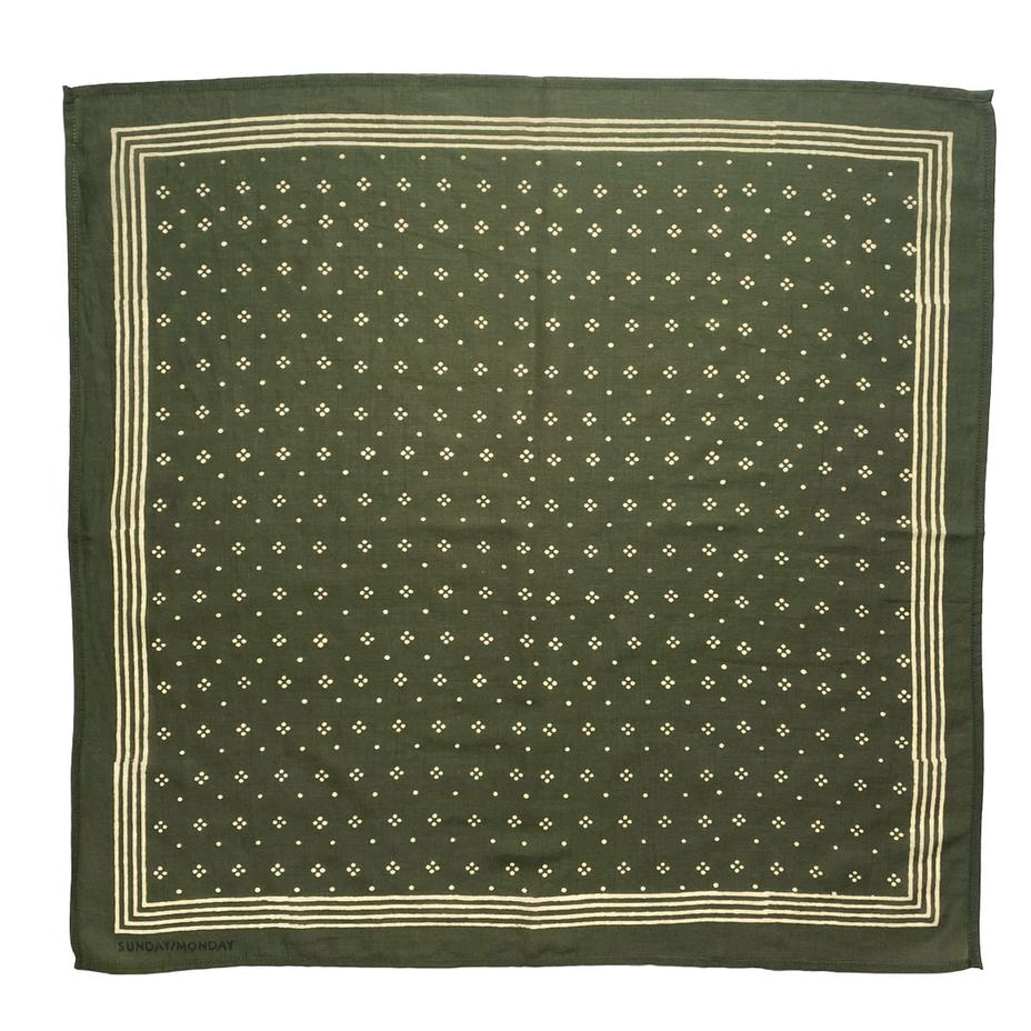 Constellation Bandana in Olive