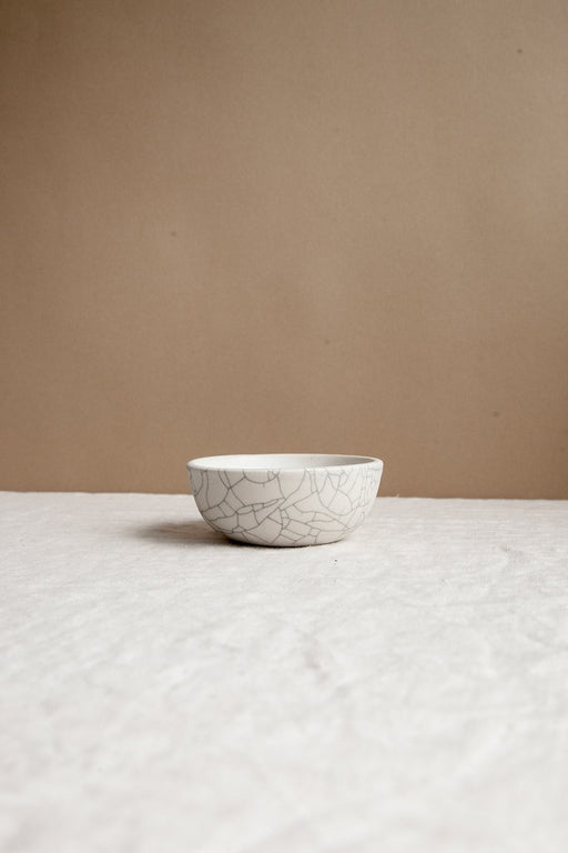 Sauce Bowl in Crackle