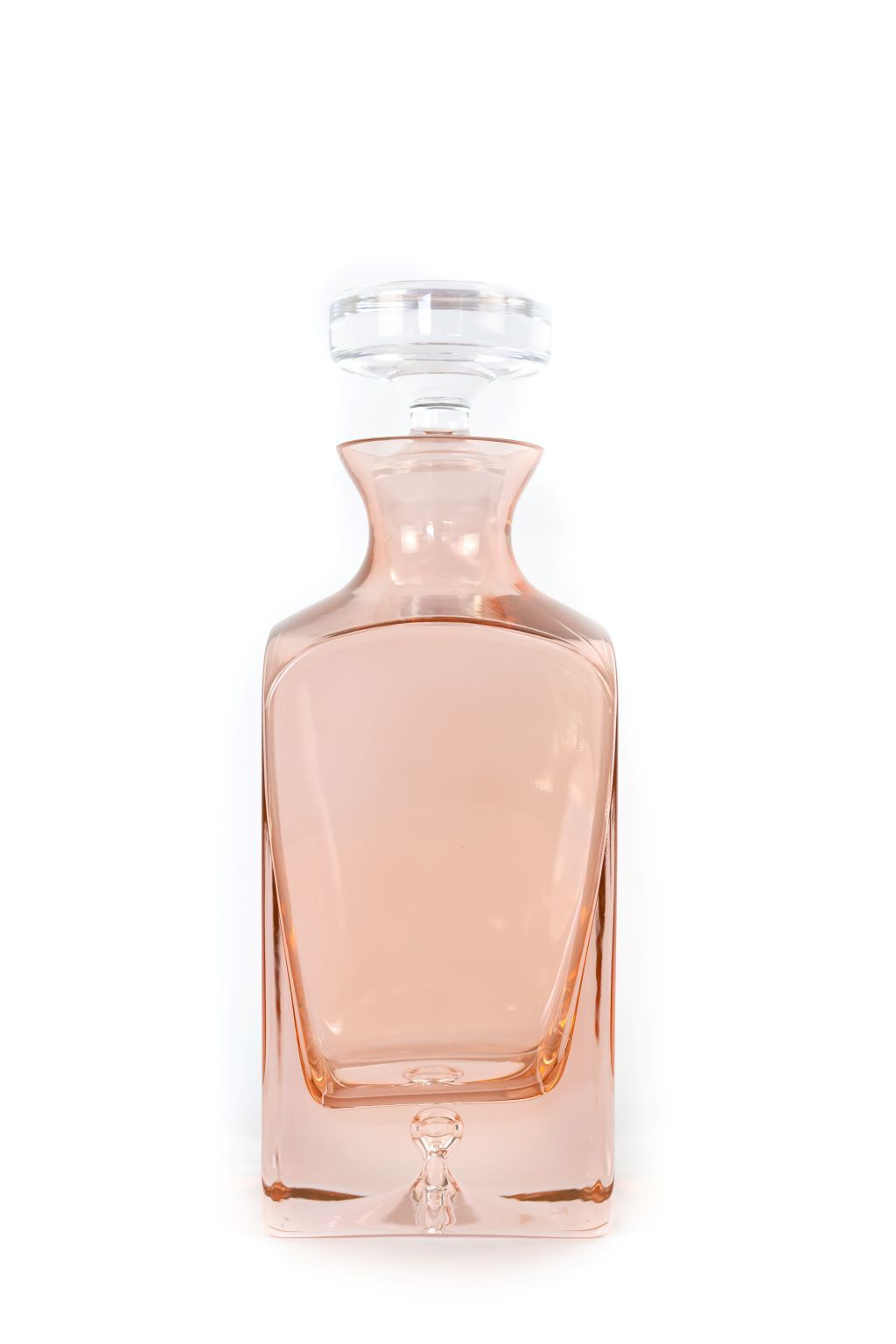 Decanter in Blush Pink