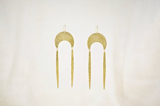 Capri Earrings in Gold