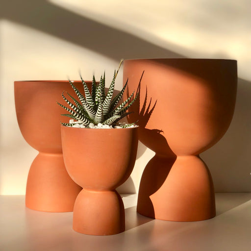 Terracotta Stacked Planter