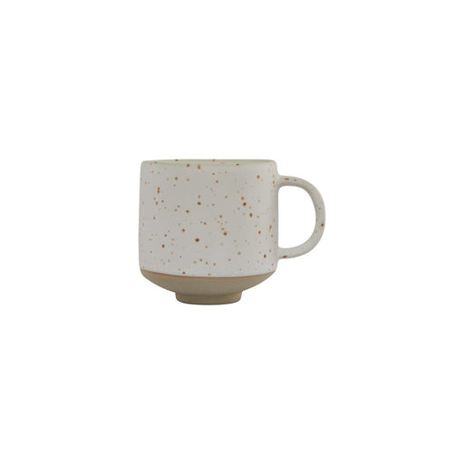 Hagi Mug in Speckled White