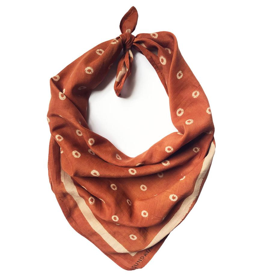 Layla Bandana in Chestnut