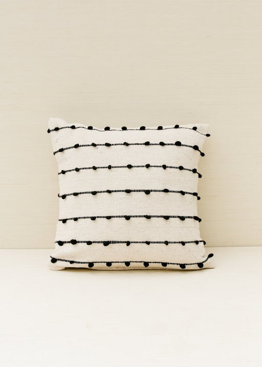 Loops Pillow in Black
