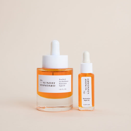 Travel Size Restorative Night Oil with Rosehip & Sea Buckthorn